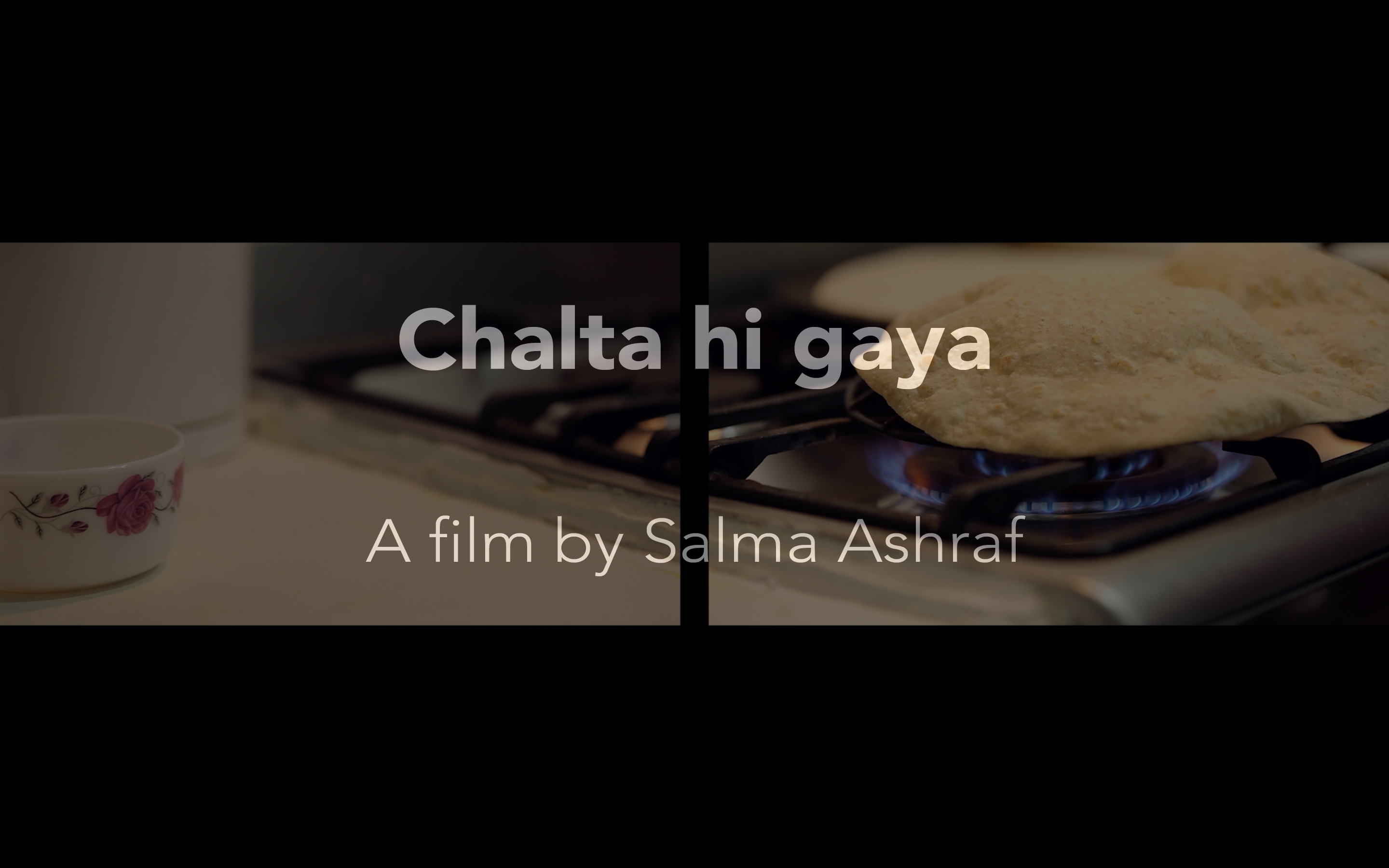 Chalta hi Gaya (He Carried On Walking) Film Poster