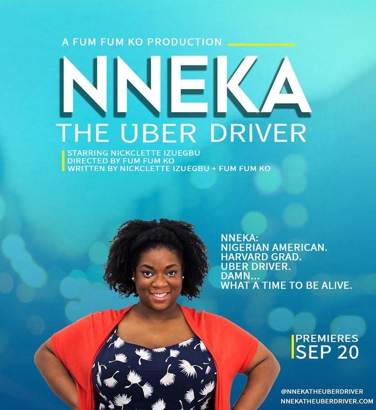 Film Poster Nneka The Uber Driver
